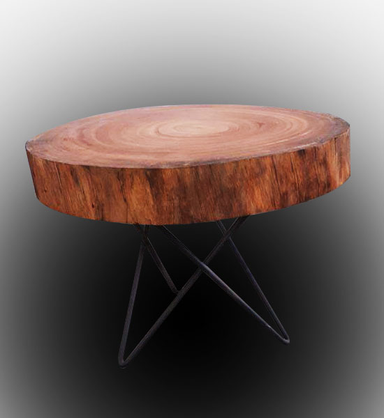 Terrific Natural Wood Coffee Table Sm 8201 Epoxytables Machost Co Dining Chair Design Ideas Machostcouk