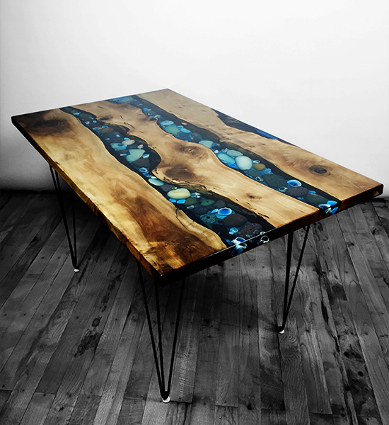 Home Dining Table Epoxy Ms 8109